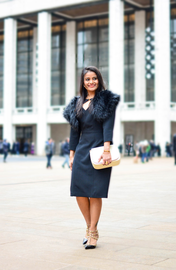 LovePlayingDressup-AdriannaPappell-LittleBlackDress-NehaGandhi-Blogger-NYFW-5