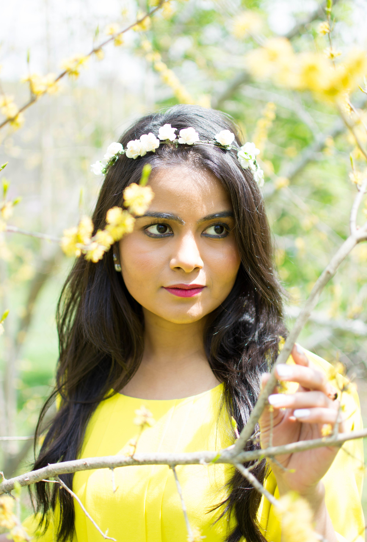 LovePlayingDressup_NehaGandhi_Pioldress_flowercrown_Mothersday_yellowdress_ootd-1