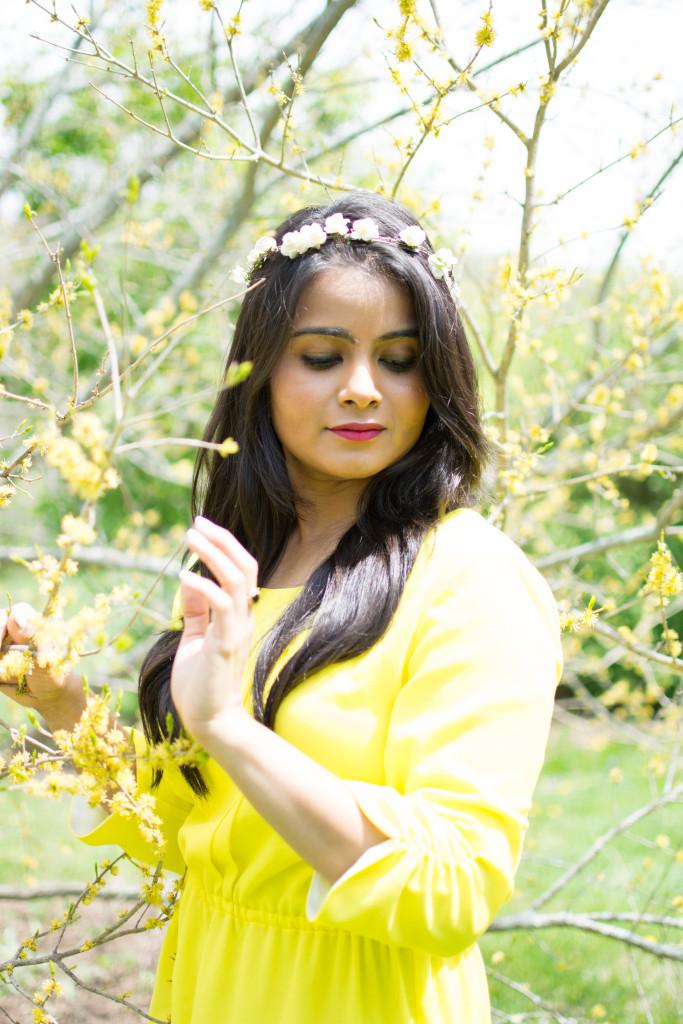 LovePlayingDressup_NehaGandhi_Pioldress_flowercrown_Mothersday_yellowdress_ootd-3