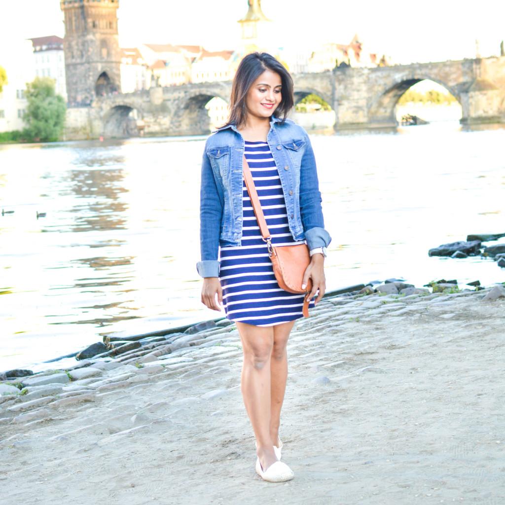 Stripes-dress-jean-jacket-ootd-loveplayingdressup-petite-7