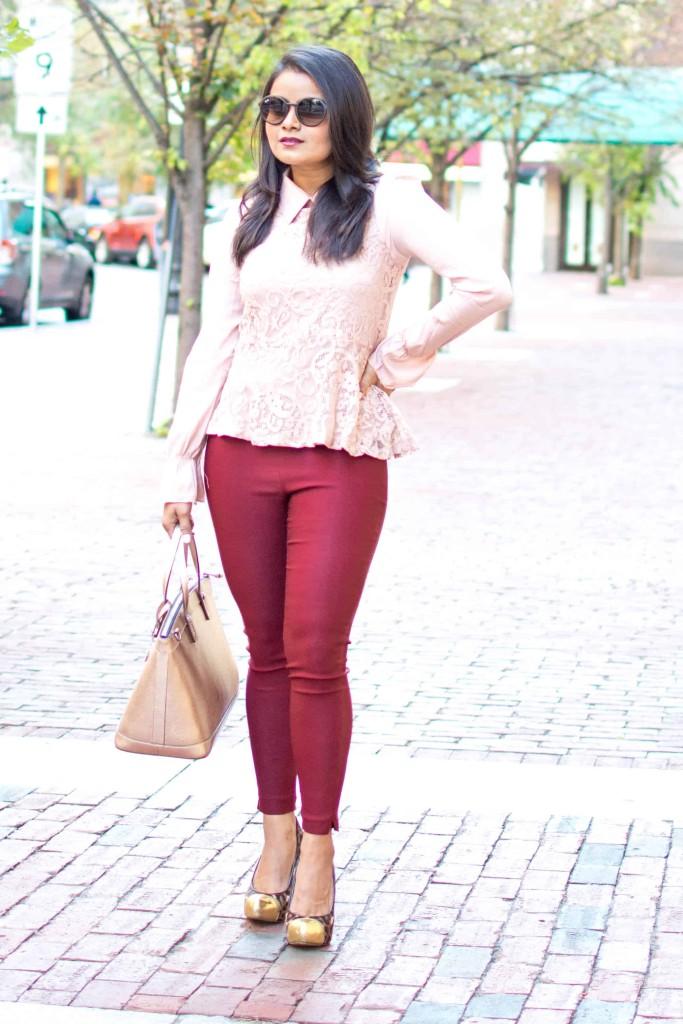 Blush-burgundy-ootd-shein-lacetop-f21pants-petite-nehagandhi-loveplayingdressup-2