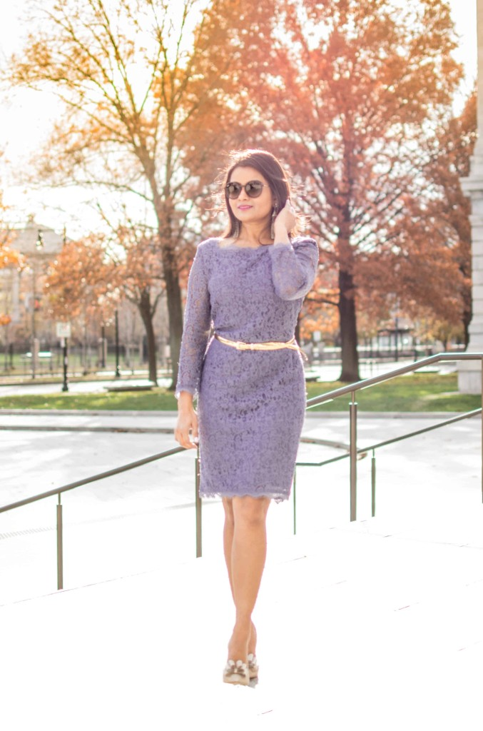 LovePlayingDressup-AdriannaPapell-Lace-PetiteBlogger-OOTD-HolidayDress-OfficeParty