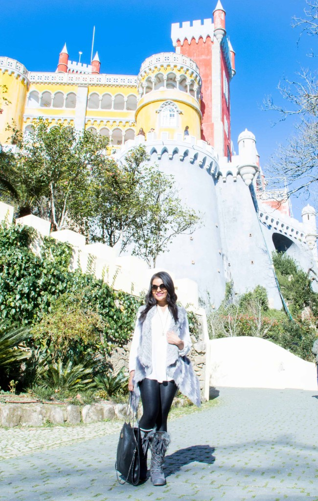 love-playing-dressup-Sintra-Portugal-Travelogue-WilsonLeather-neha-gandhi-Blogger-FurVest-TravelStyle-MukLuks-OOTD1