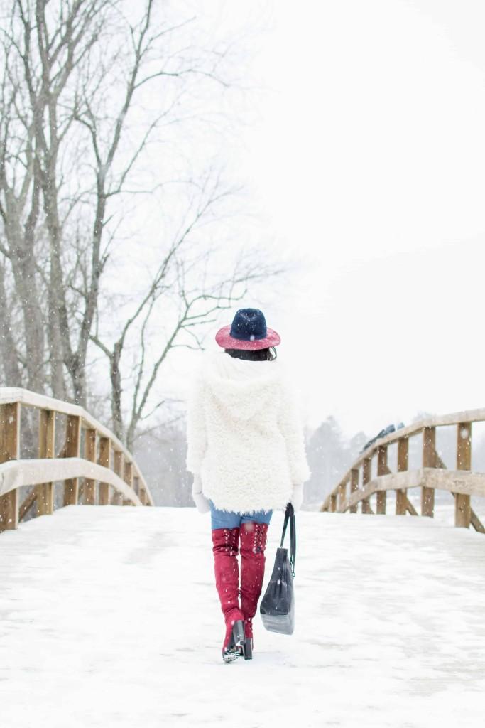LovePlayingDressup-freepeople-FuzzyCoat-Snow-Photoshoot-Boston-OOTD-OTKboots-fedora.2