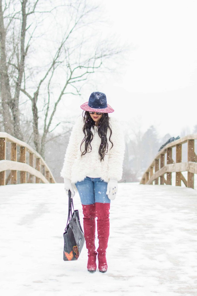 LovePlayingDressup-freepeople-FuzzyCoat-Snow-Photoshoot-Boston-OOTD-OTKboots-fedora.6