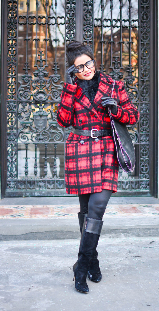 LovePlayingDressup-PlaidJacket-TartanCoat-WinterCoat-FrontRowJacket-BostonBlogger-StellaMccartneyBag-MadewellEyewear-1
