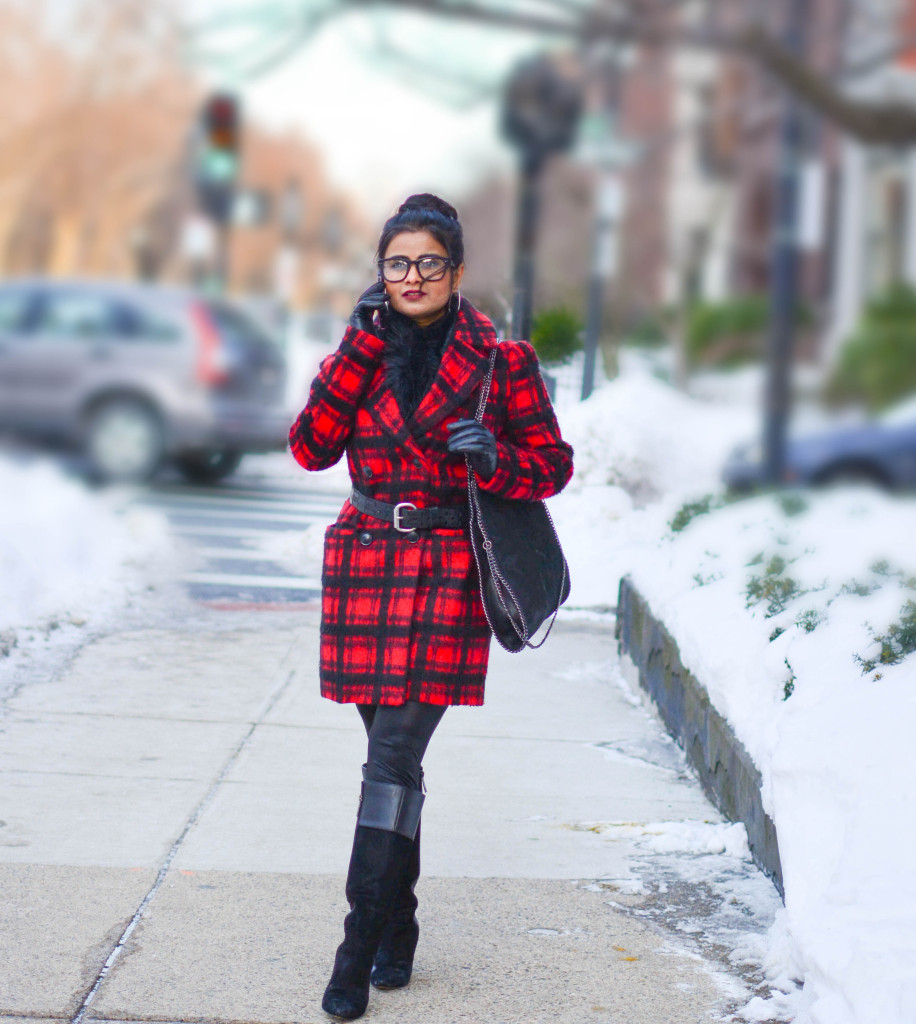 LovePlayingDressup-PlaidJacket-TartanCoat-WinterCoat-FrontRowJacket-BostonBlogger-StellaMccartneyBag-MadewellEyewear-4