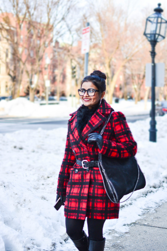 LovePlayingDressup-PlaidJacket-TartanCoat-WinterCoat-FrontRowJacket-BostonBlogger-StellaMccartneyBag-MadewellEyewear-5