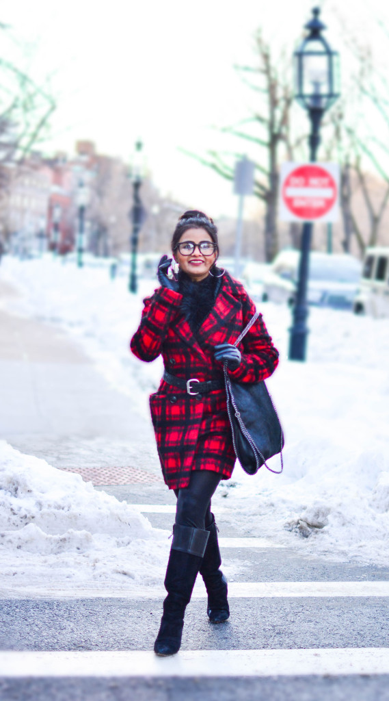 LovePlayingDressup-PlaidJacket-TartanCoat-WinterCoat-FrontRowJacket-BostonBlogger-StellaMccartneyBag-MadewellEyewear-6