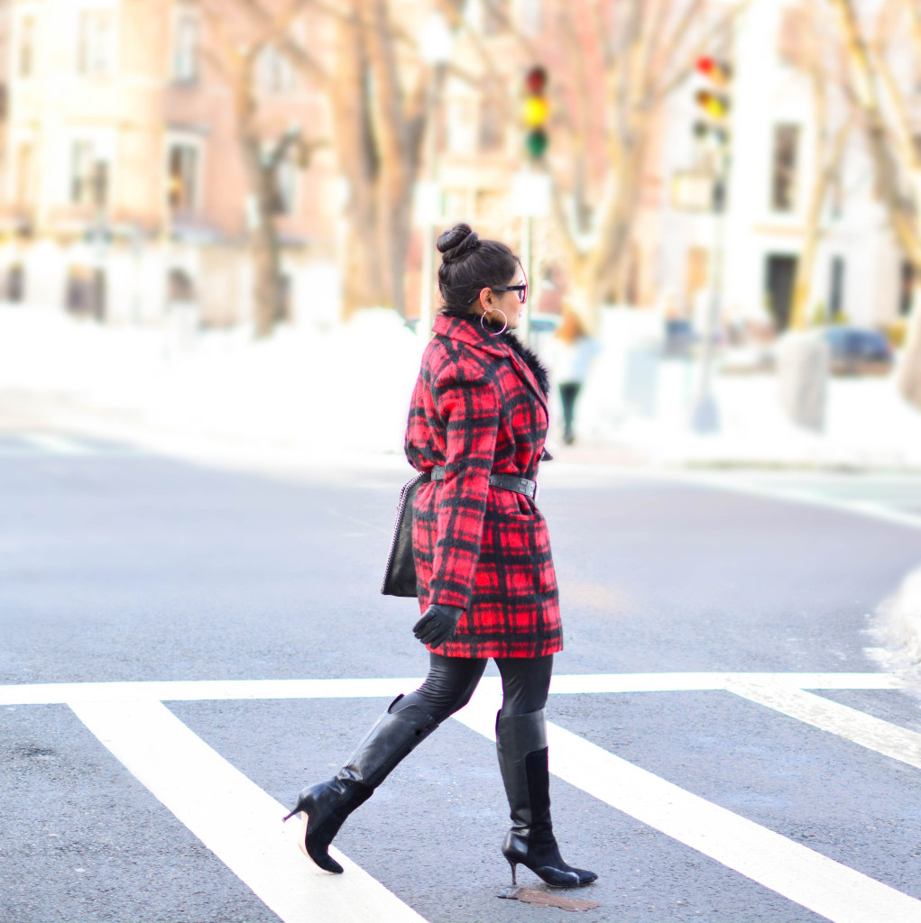 LovePlayingDressup-PlaidJacket-TartanCoat-WinterCoat-FrontRowJacket-BostonBlogger-StellaMccartneyBag-MadewellEyewear-7