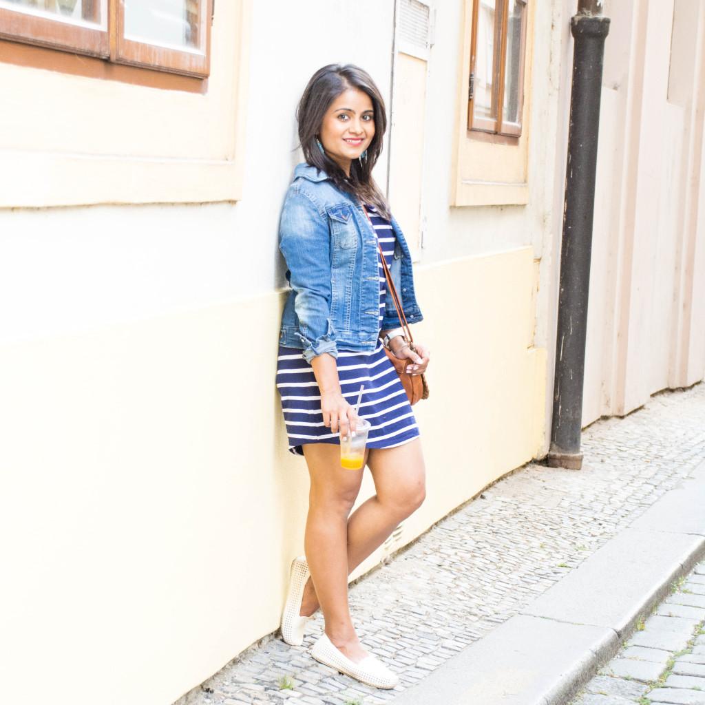 Stripes-dress-jean-jacket-ootd-loveplayingdressup-petite-3