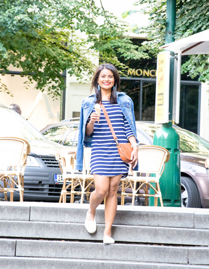 Stripes-dress-jean-jacket-ootd-loveplayingdressup-petite-5