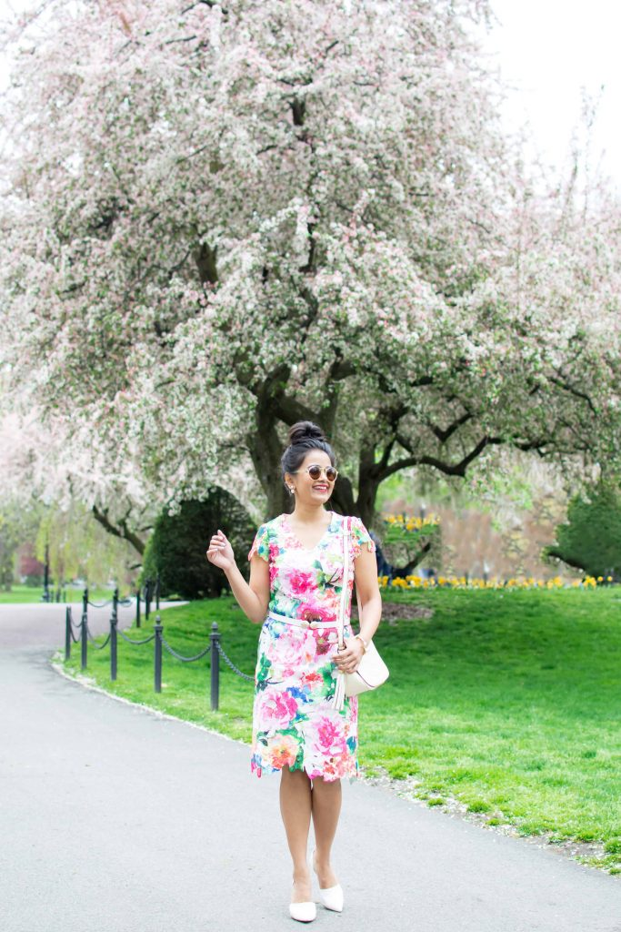 LovePlayingDressup-Neha-Gandhi-FloralDress-Boston-Spring-OOTD-Petite-Tulips-5